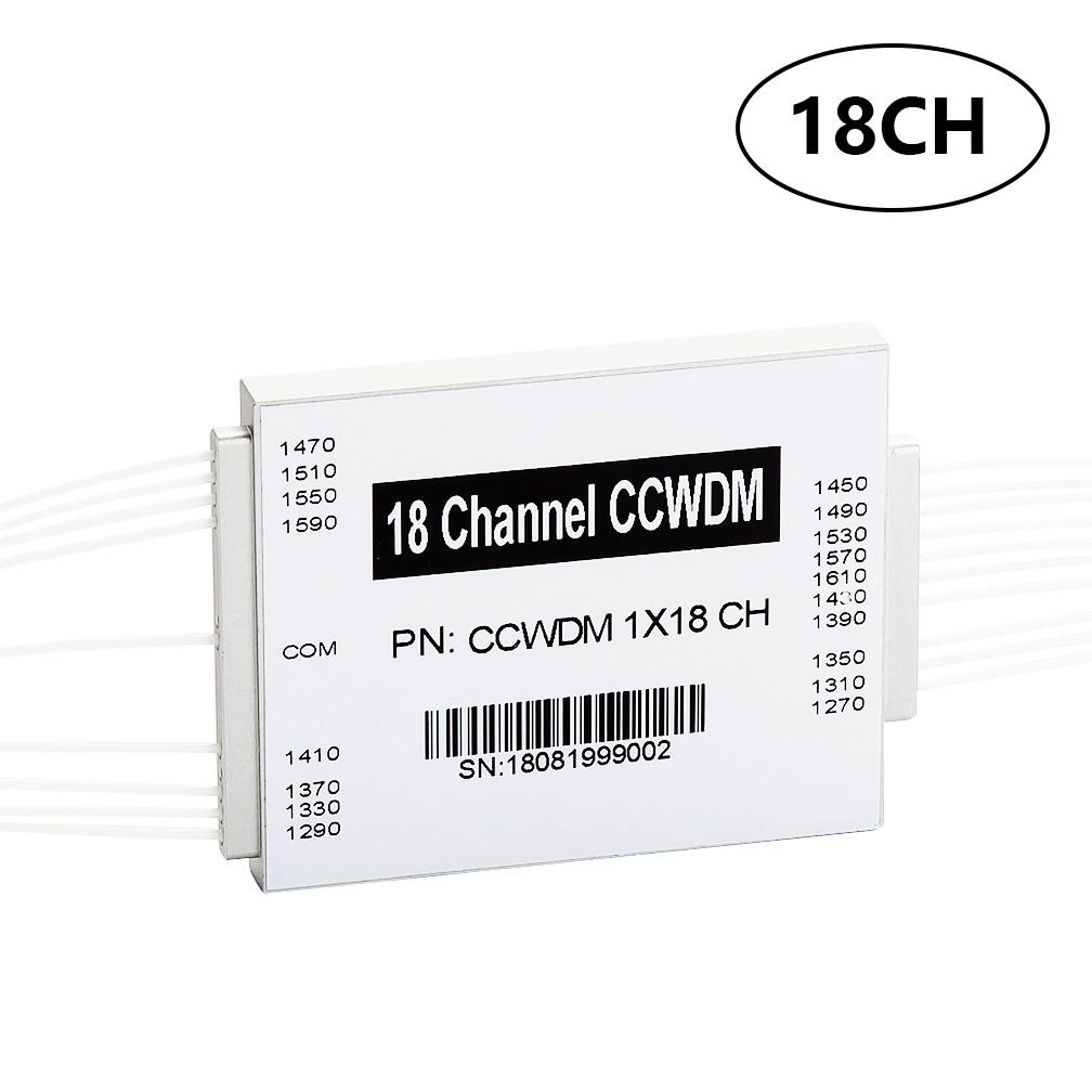 18CH CCWDM MUX/DEMUX, Compact CWDM Modules