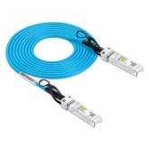 SFP+ DAC Twinax Cable, SFP+ Direct Attach Copper Cable, 0.5~3 meter, Blue, Passive, 30AWG