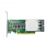 PCIe to NVMe Expansion Card for U.2 SSD (PEX 8749), X16, (8) SFF-8643