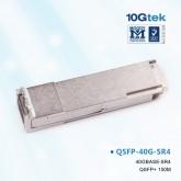 For Arista QSFP-40G-SR4, QSFP+ Optic, 100m over OM3 MMF / 150m on OM4