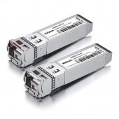 A Pair of 10G SFP+ Bidi Transceivers, up to 40 km