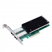 Dual 25Gbps Ethernet Converged Network Adapter, PCI-E X8, Compatible with Intel XXV710-DA2