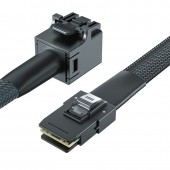 SFF-8643 to SFF-8087 Internal SAS cable, 0.5~1 meters (with sideband)
