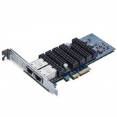 10G Network Card, Dual RJ45 port, X4 Lane, Intel X550-T2 equivalent