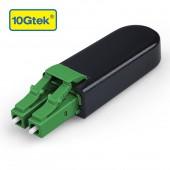 LC/APC Fiber Optic Loopback Adapter, LC Connector, Singlemode 9/125μm Test Plug for Testing Applications
