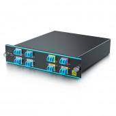 4 Channels Dual LC CWDM MUX/DEMUX 1550~1610nm, Monitor Port, IL<1.75dB | CWDM-OADM4-2=
