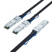 200G QSFP56 to 2x QS