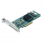 6Gb/s Internal PCI Express SAS/SATA HBA RAID Controller Card, compatible for LSI 9211-8I (Default)