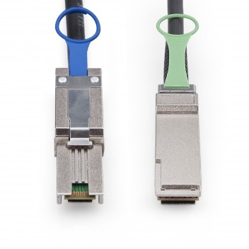 SFF-8088 to QSFP, Hybrid SAS Cable, 0.5~7 meters (SAS Cables) #3